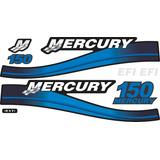 Adesivo Motor De Popa Mercury 150 Hp Efi
