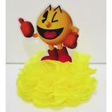Totem De Mesa Enfeite Lembrancinha Pac Man Come Come