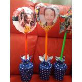 Globos Personalizados C/foto Corazón Circulo Estrella 18x18