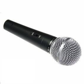 Microfone Profissional Com Cabo M-58 Único = Shure ( Sm58 )