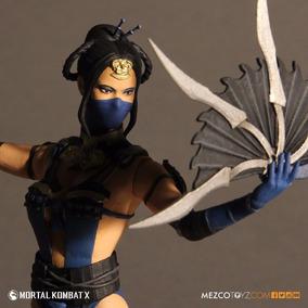 Boneco Mortal Kombat X Kitana Mezco Toys Lacrado Novo