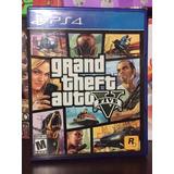 Gta V Grand Theft Auto 5 Ps4