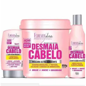 Kit Desmaia Cabelo 950g, Shampoo + Leave-in - Forever