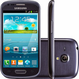 Celular Samsung Galaxy S3 Siii Mini I8190l 8gb Azul Vitrine