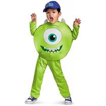 Disfraz Para Niña Traje Clásico Del Niño Mike - Niño Grande