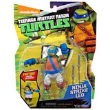 Figuras Articuladas Tortugas Ninja Mov Golpe/patada/trepa