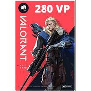 Cartão Riot Games Valorant 280 Vp