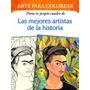 V&r Arte Para Colorear Mejore Artistas De La Historia (2646)