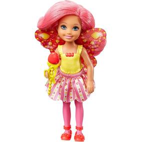 Boneca Barbie Dreamtopia - Mini Fada Morango Dvm90
