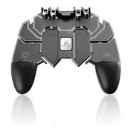 Control Gamepad Para Celular Gmak66 Con 4 Gatillos