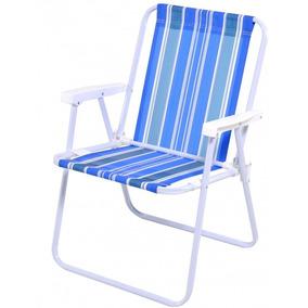 Cadeira Praia E Piscina Mor Polietileno Aco - Ref 2002