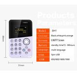 Mini Chaveiro Celular Card Phone Com Sos Espião Colar Idoso