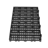 Pallet Estrado Plástico Preto 2,5 X 25x50 - Leia O Anúncio