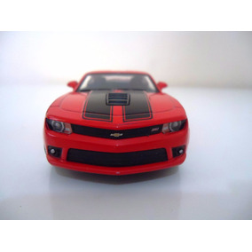 Linda Miniatura Em Metal Carro Chevrolet Camaro 2014 E1/38