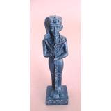 B9586 Princesa Egípcia Em Resina, Medindo 12 Cm De Altura E