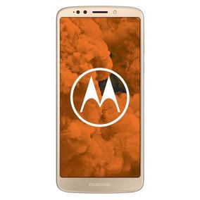 Celular Libre Moto G6 Play Single Sim Fine Gold Dorado