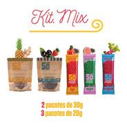 Kit.mesclado 20g E 30g Rolinho De Frutas (lanche Sem Gluten)