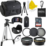 Kit De Accesorios Deals Number One Para Canon Rebel T6i T6