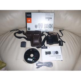 Sony Nex5 Alfa 14.2 Mpx Graba Hd Poco Uso