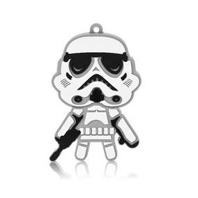 Pendrive 8gb Stormtrooper Star Wars Multilaser Pd039 Novo