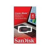 Pendrive Cruzer Blade Sandisk 4gb