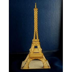Servilletero Torre Eiffel Fibrofacil Grabado Laser Art 202
