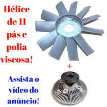Polia Viscosa + Helice P/refrigeração L200 Sport Hpe 2.5
