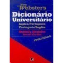 Novo Webster´s Dicionario Universal - Ingles Português