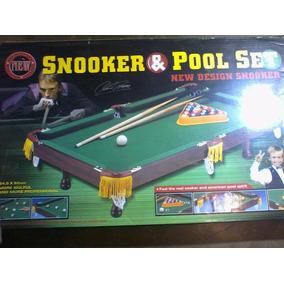 Mesa De Pool Pequeña.snooker Y Pool