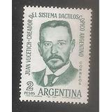 Argentina 1962 (661) Juan Vucetich