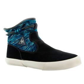 Zapatillas Le Coq Sportif Meribel Suede Mujer Azul