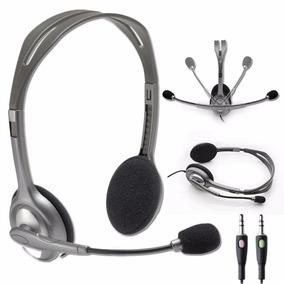 Auriculares Headset Logitech H110 Microfono Skype 3.5 Mm