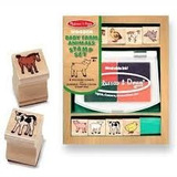 Baby Farm Animals Sellos - Melissa And Doug- Giro Didactico