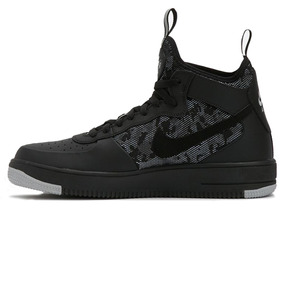 69eb24a5893 Nike Air Force Botitas - Zapatillas Nike Negro en Mercado Libre ...
