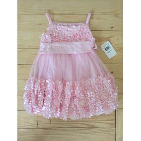 Vestido Importado Niña Bonnie Baby Talla 2 Carters Nuevo