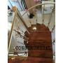 Escaleras Caracol Colonial En Madera, Escaleras De Interior