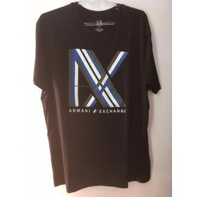 Camiseta Tshirt Armani Exchange Masculina Original Preta Xxl