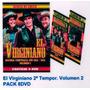 El Virginiano Segunda Temporada Vol 2 Dvd Pack