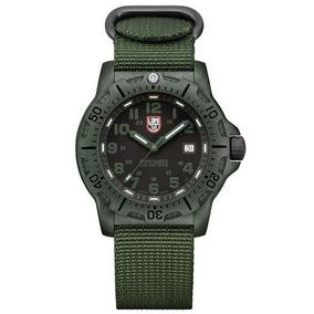 Luminox Negro Ops Carbono Verde Mens Watch 8817.go