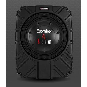 Caixa Selada Bomber Slim 8 - 200 Wrms Ideal P/ Caminhonetes