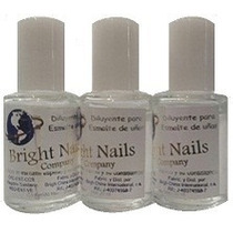 Diluyente Para Esmalte Bright Nails Excelente Calidad 30 Ml