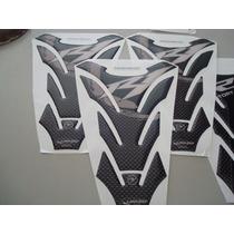 Tank Pad Resina Tipo Fibra De Carbono Yamaha R1 Motomaniaco
