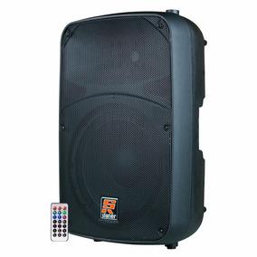 Caixa Acústica Ativa Bluetooth Pen Drive Cartao Sd 300w Rms