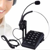 Teléfono Call Center Completo Headset Cabezal Vincha Cimexi