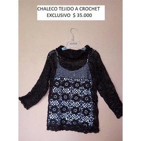 Chalecos A Crochet Y Palillo Exclusivos Hechos A Mano