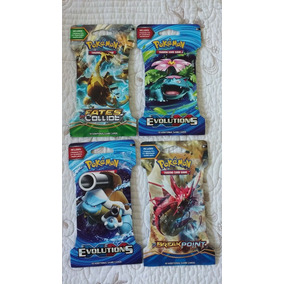 Cartas Coleccionables Pokemon Game Booster Packs
