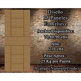 Puertas De Madera Extrafuertes Disponibles Ya (70,80,90x210)