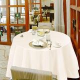 Blanco 120 Poliester Restaurante Casa Corredor Mantel Mesa