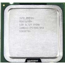 Processador 775 Intel Pentium 4 3.00 Ghz 2m/800 Com Garantia