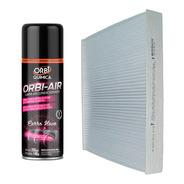 Filtro Ar Condicionado Cabine Bosch + Spray Higienizador